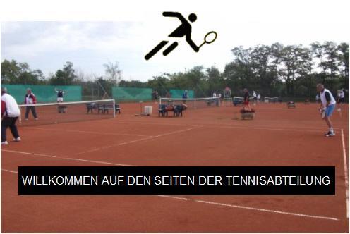 Willkommen auf den Seiten der Tennisabteilung